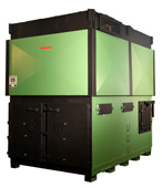 Talbotts wood burning boiler solution ideal for utilising on site generated wood waste